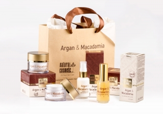 NATURAL COSMETIC Argan a Makadamia LUX