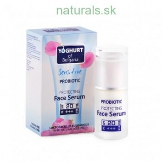 Yoghurt of Bulgaria Sensitive Probiotic Protecting Face Serum,35 ml, SPF 20